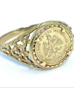 Maximiliano Emperador Coin Ring